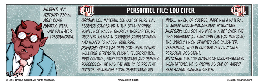 Personnel File: Lou Cifer