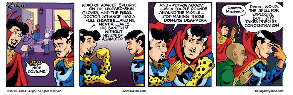 Dr. Strange cosplay tips