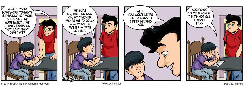 Help! My teacher is evil?