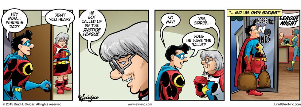 Justice League - Evil Inc by Brad Guigar