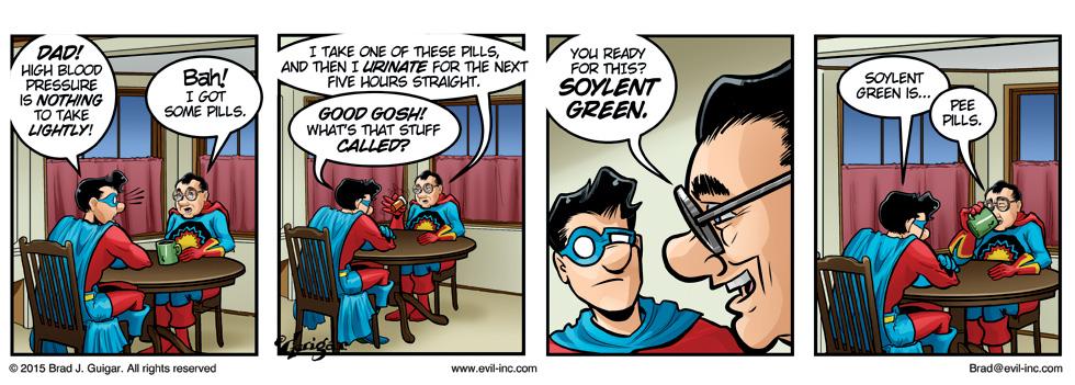 Soylent Green - Evil Inc by Brad Guigar 20150203
