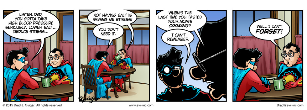 Your mom's cooking - Evil Inc by Brad Guigar 20150214