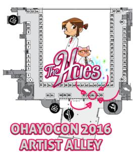 Ohayocon 2016 map
